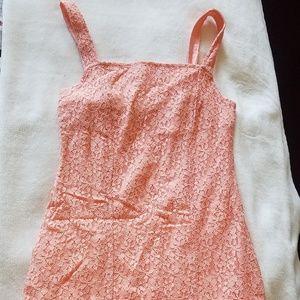 Hollister mini salmon dress
